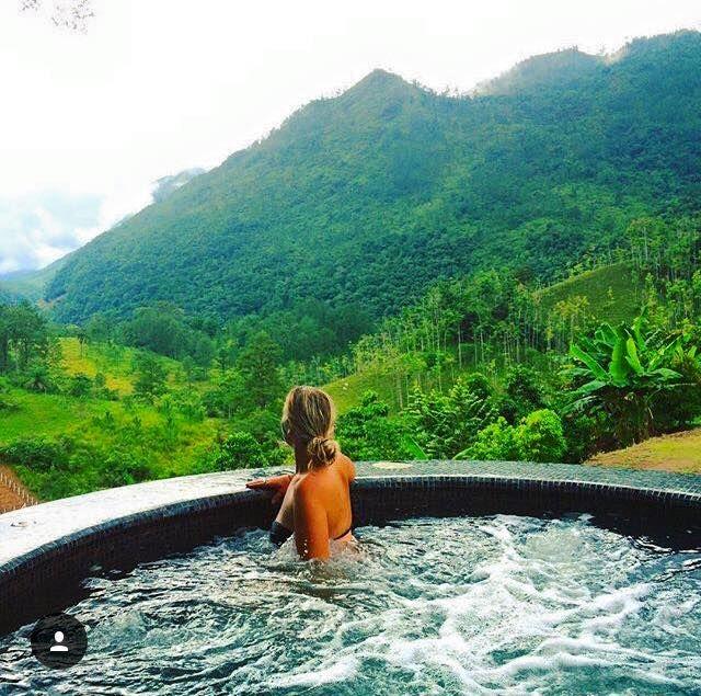 Zephyr Lodge Lanquin ($15/night Hostel in Guatemala!!) photo by: @sevencontinentssasha (IG)