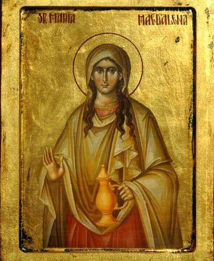 Icon of St. Maria Magdalena.
