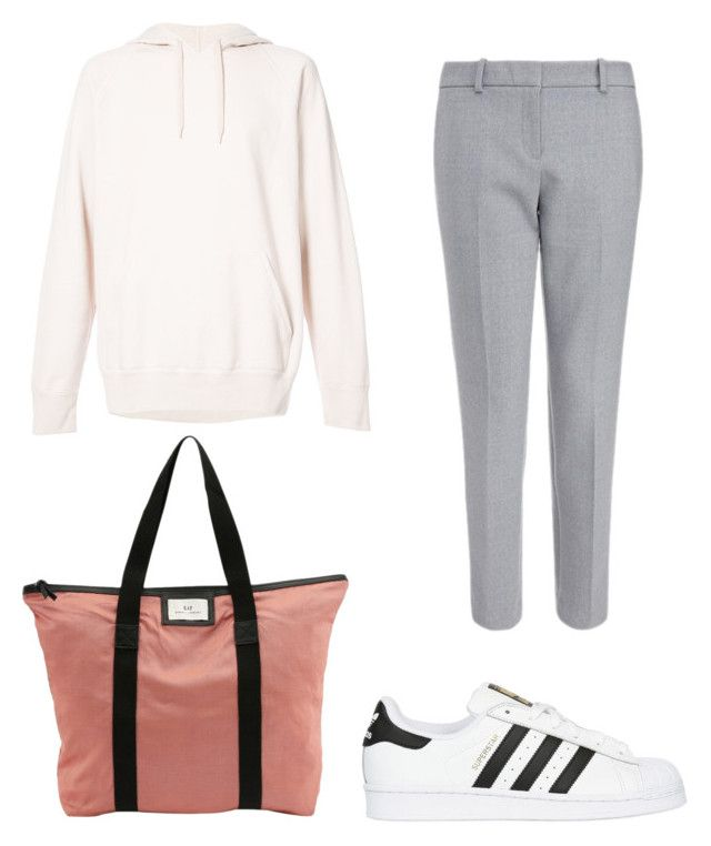 """""""Travel outfit"""" by stinasolheim on Polyvore featuring Our Legacy, DAY Birger et Mikkelsen and adidas Originals"""