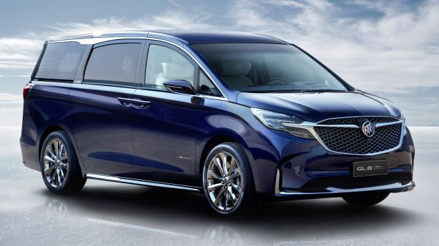 This Buick Minivan Has A Shockingly Beautiful Interior The Buick Gl8 Is A Big Luxury Minivan That We Don T Get In Cars Autos Auto Buick Gl8 Buick Mini Van