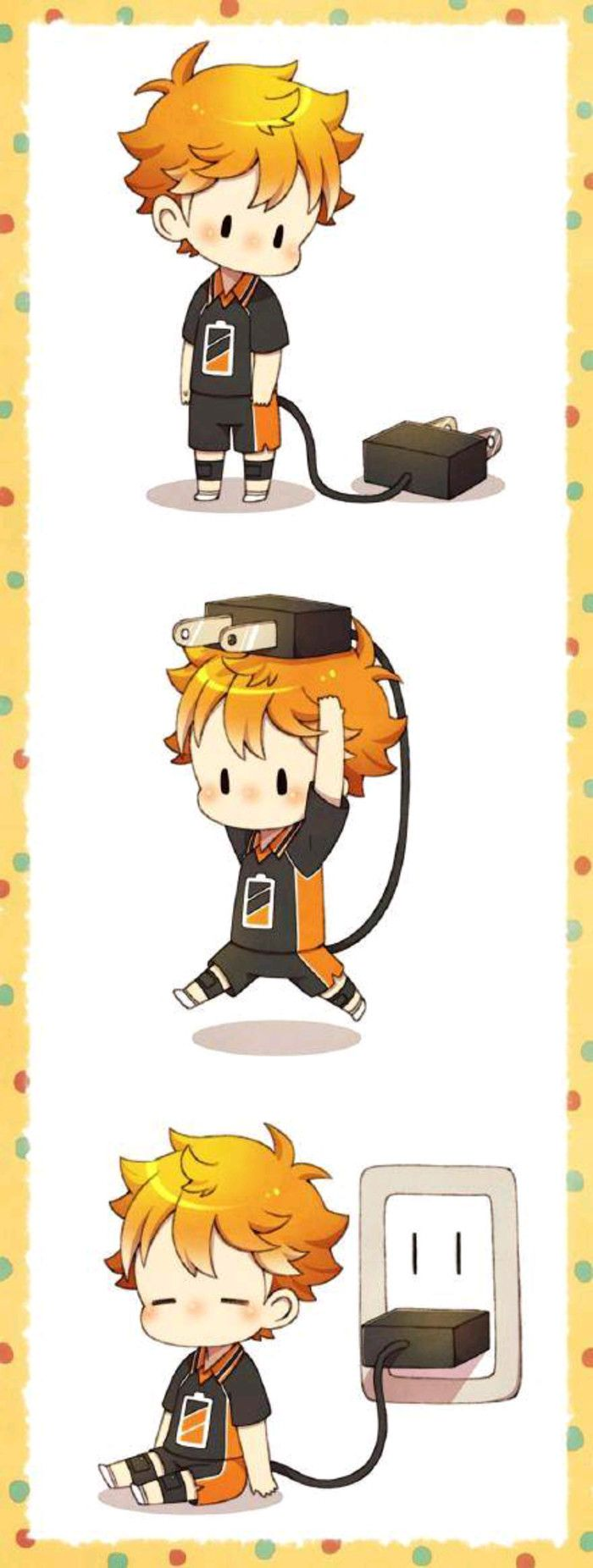 This is so, down right, adorable! - Haikyuu!!,Shouyou Hinata fan art