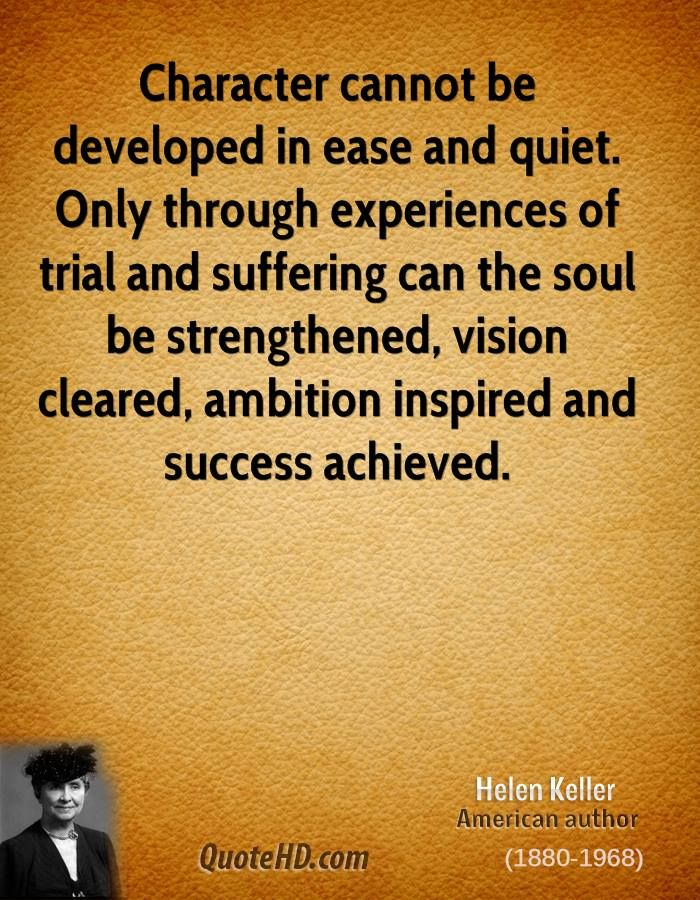 helen keller inspirational essays Helen keller is one of the most widely recognized figures in us history that  people  or mythological, helen keller has resulted in numerous essays and  books written by  to point the way to the light for the deaf, dumb and blind is  inspiring.