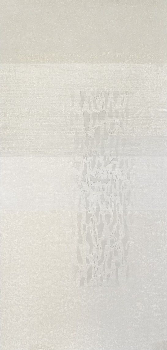 "Ann Symes ""Falling"" Japanese woodblock print (moku hanga)"