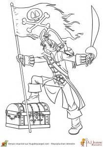 Les 18 meilleures images du tableau dessins pirate fille - Coloriage fille pirate ...