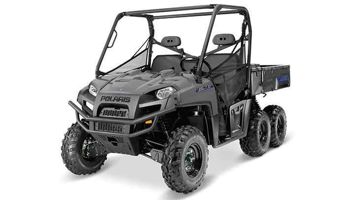 New 2017 Polaris Ranger® 6X6 ATVs For Sale in North Carolina. Avalanche Gray 2,000 pounds of towing capacity Powerful 40-horsepower 800 Twin with EFI for reliable starting 1,250 pounds of rear dump box capacity