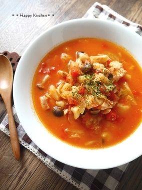 キャベツとチキンの具沢山チーズトマト煮【圧力鍋で】|レシピブログ