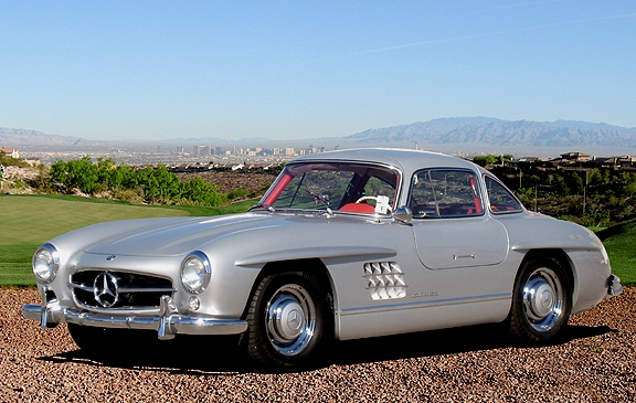 mercedes 300 sl gullwing replica for sale on kitcars and replica cars. Black Bedroom Furniture Sets. Home Design Ideas