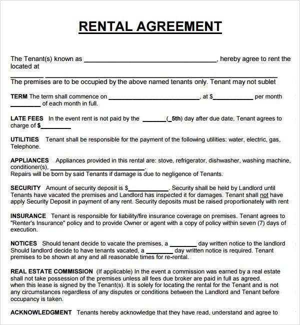 Printable Sample Rental Agreement Form Https 75maingroup Com Rent Agreement Form Pdf Rental Agreement Templates Room Rental Agreement Lease Agreement