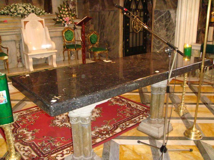 Altar Santuario de las Lajas