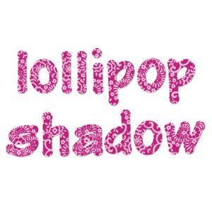Sizzix Bigz Alphabet Set 4 Dies - Lollipop Shadow Lowercase Letters $99.99