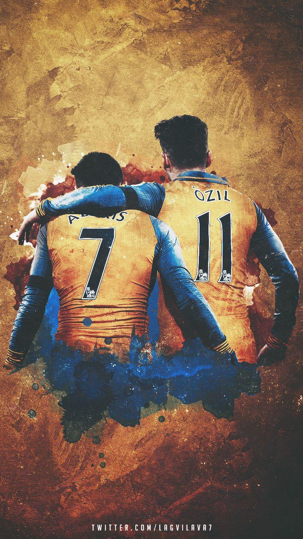Alexis and Özil.