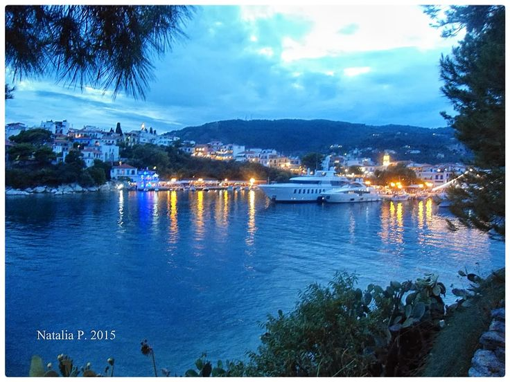 Photo Mania Greece: Skiathos Greece,  View from Bourtzi.