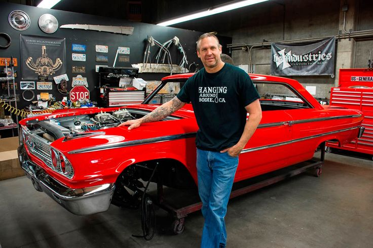 duPont REGISTRY's Autofluence Blog takes a look at #BodieStroudIndustries and talks with #BodieStroud about working with #Celebrities , his build style, and building #Cars that are meant to hit the road, not sit in the garage!  http://blog.dupontregistry.com/news/a-look-at-bodie-stroud-and-his-builds/(Pictured: Bodie Stroud next to the 1963 1/2 Ford Galaxie:) www.BodieStroud.com 2015  #BSIndustries #LosAngeles #CA #AutomotiveNews #HotRods #BSI