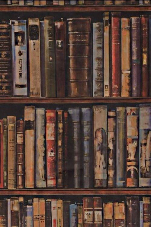 iPhone 5 Wallpaper - Books For The Book Worms