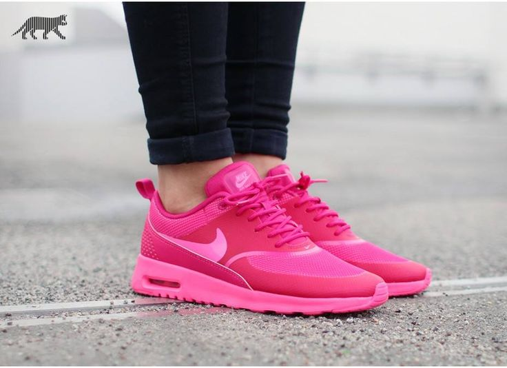 reputable site de0c7 d37cb Nike Air Max Thea Wine Red Pink Coral