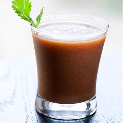 Banana and date smoothie. For the full recipe, click the picture or visit RedOnline.co.uk