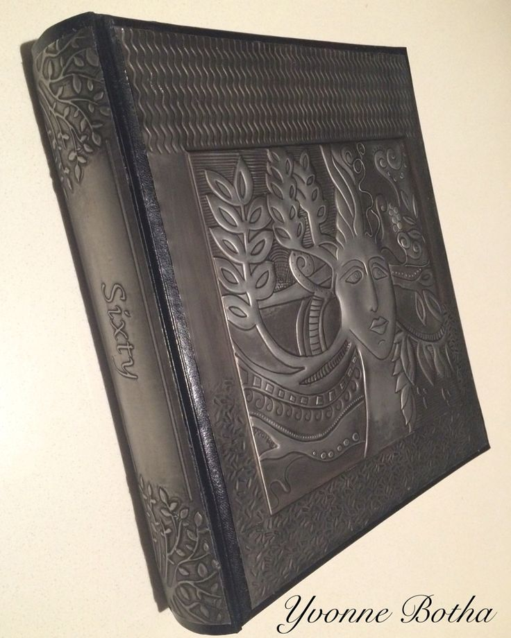 Pewter photo album. A commission done for a sixtieth birthday. www.fb.com/MimmicGalleryandStudio