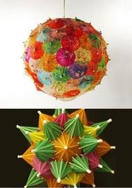 luau decorations using drink umbrellas
