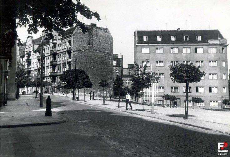 ulica #spadzista w 1968 roku, #wilda, #poznan