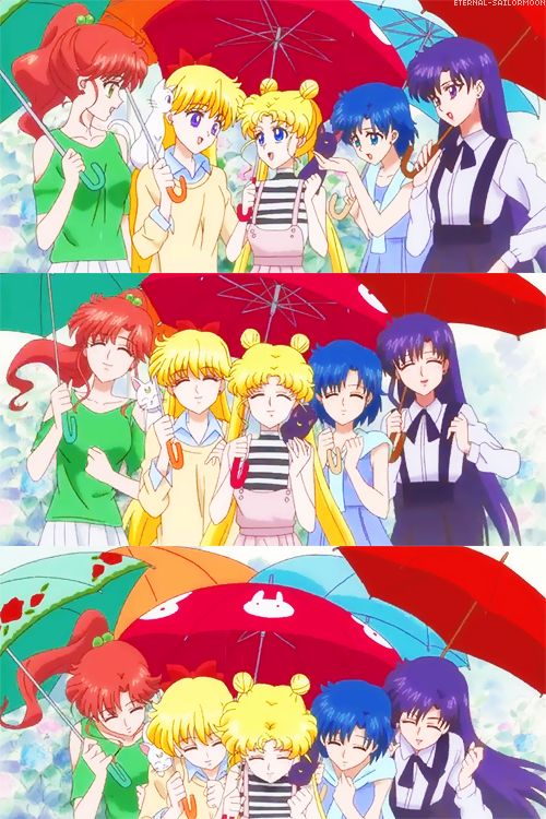 Sailor Moon Crystal - The Inner Senshi