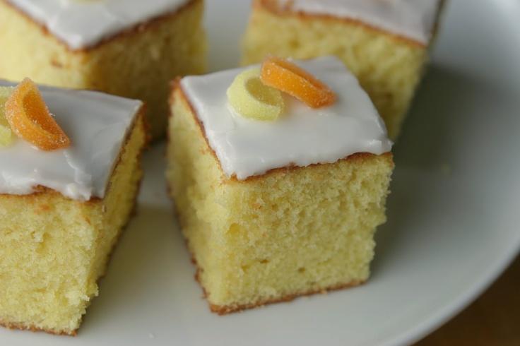 Sitronkake i langpanne (Lemon traybake) #langpannekake #cake