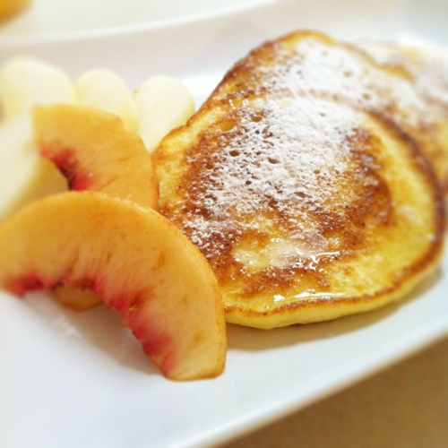 Fluffy Ricotta Cheese Pancakes | Foodie | Pinterest