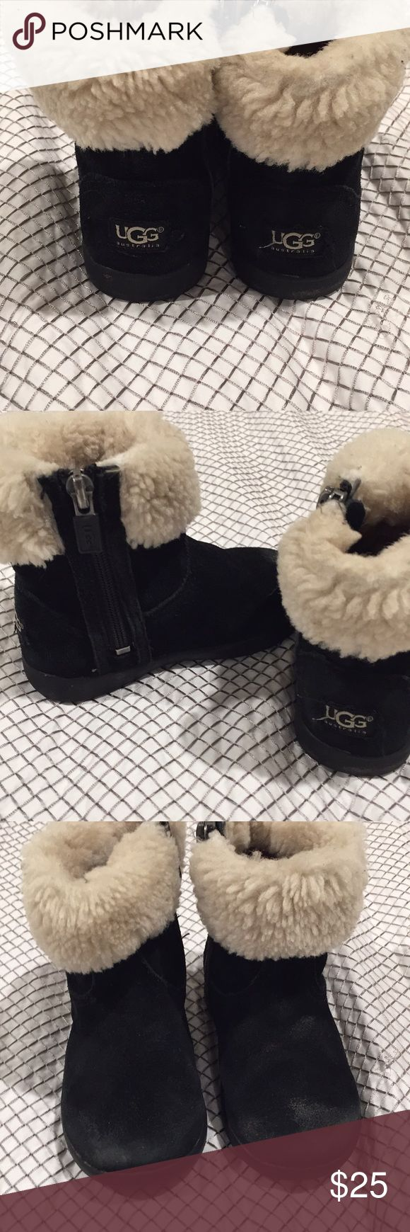 UGG authentic girls booties UGG Jorie II walker Authentic toddler boots. Perfect for the winter. Still sell at Nordstroms UGG Shoes Boots