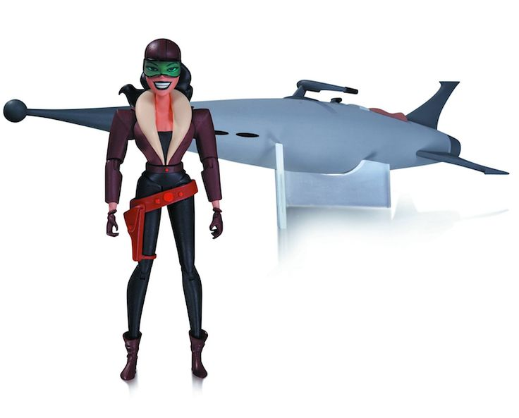 Batman animated series roxy rocket action figure by dc