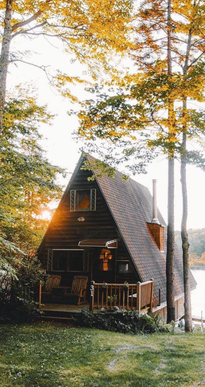 Pin By David Broadway On Cabin Life House In The Woods A Frame House A Frame Cabin