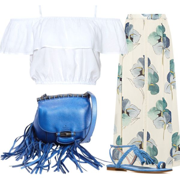 Safari by fely-m on Polyvore featuring moda, Tory Burch, Stuart Weitzman, Gucci, outfit and girl