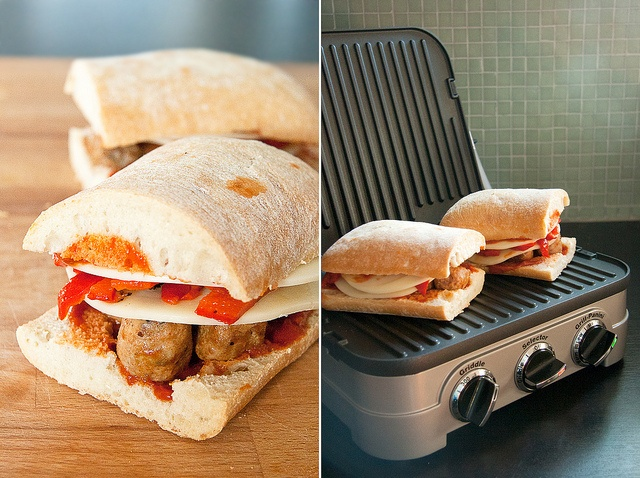 Spicy Sausage Panini by Isabelle @ Crumb, via Flickr