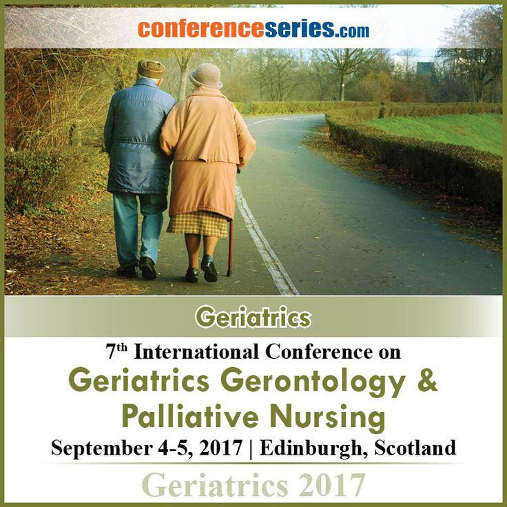 7th International Conference on #Geriatrics_Gerontology & #Palliative_Nursing September 4-5, 2017 Edinburgh, Scotland.