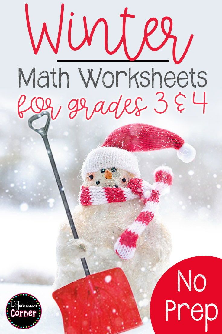 Are You Ready For Winter This Fun Worksheet Pack Includes A Variety Of 3rd 4th And 5th Grade Math To Winter Math Worksheets Winter Math Winter Math Activities [ 1102 x 735 Pixel ]