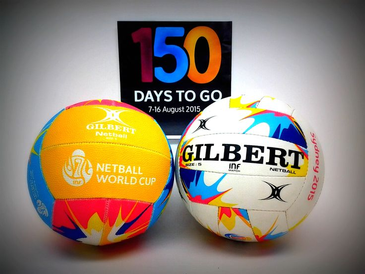 Were are so excited here at Gilbert Netball today !!! ONLY 150 DAYS TO GO !! @netballworldcup #SeeYouInSydney