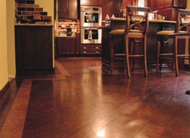 Linoleum Flooring And Cork Flooring Are Natural Sustainable Kitchen Floor Options That Look Sharp Fight Germs And Last Almost As Long As You Do