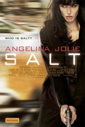 Salt  the movie    Angelina Jolie - This is my cover I love this movie what'snot to love it's my lady