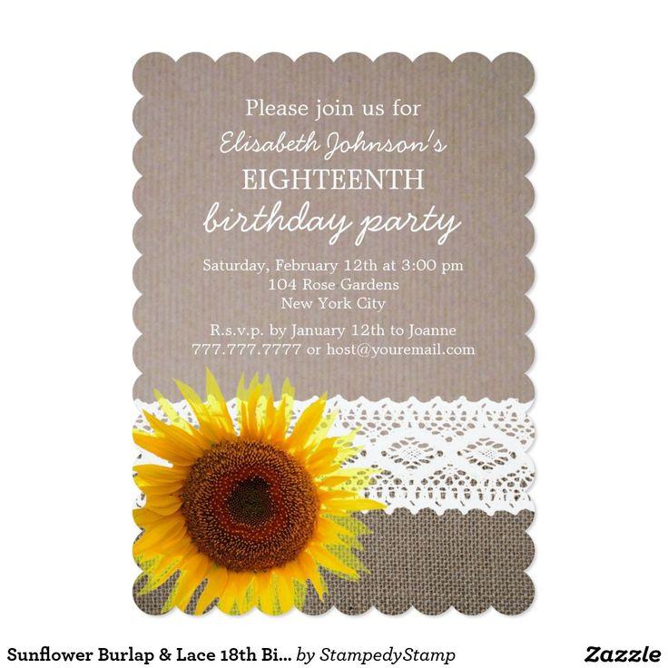 327 best BIRTHDAY INVITATIONS images on Pinterest | Birthday ...
