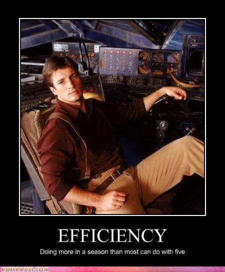 Firefly - Efficiency...