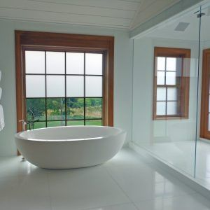 Electric Privacy Glass Shower Doors