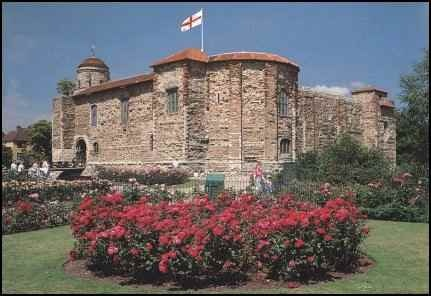 colchester castle, not far from where i lived. the oldest recorded city in england. (also the home of blur!)
