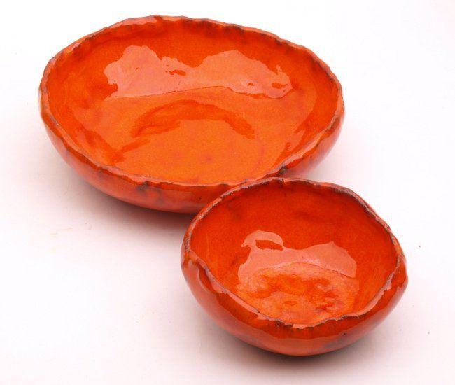 skorupki  pomarańczowe (proj. Dekornia), do kupienia w DecoBazaar.com