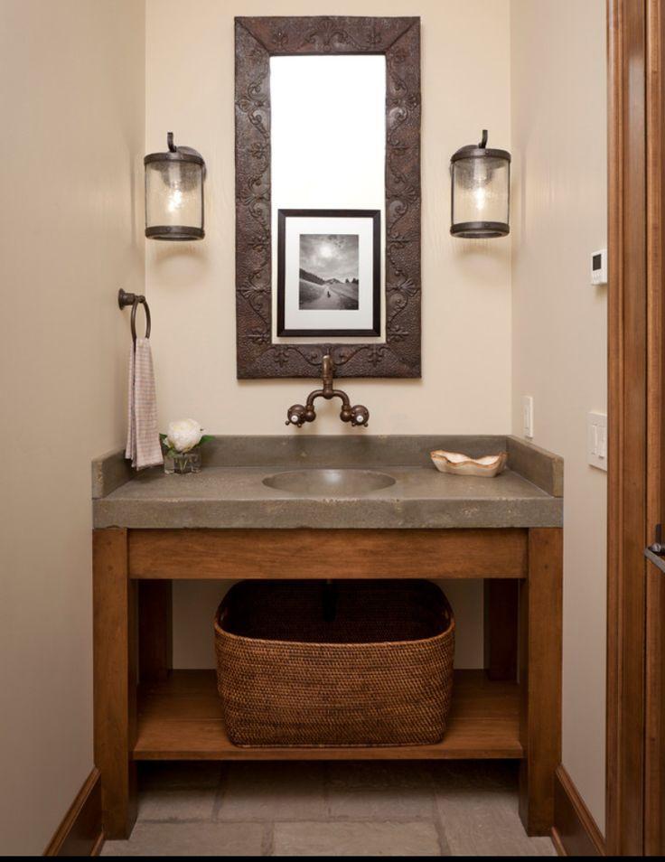 Concrete Vanity For Bathroom