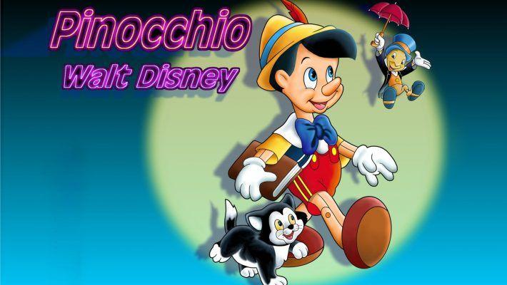 Pinocchio And Jiminy Cricket Cartoon Kids Walt Disney Hd Wallpaper For Desktop 1920 1200 Cartoon Kids Walt Disney Jiminy Cricket
