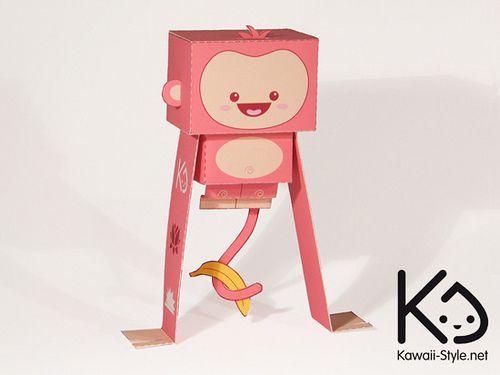 Kikoo: the kawaii monkey by Cuman on DeviantArt