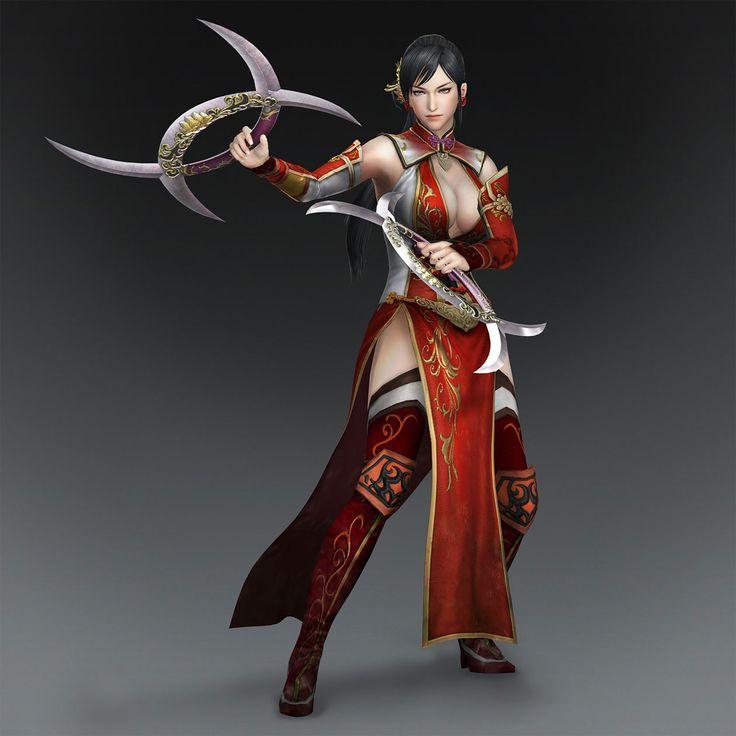 Warriors Orochi 3 Lian Shi: 57 Best Warrior Orochi Images On Pinterest