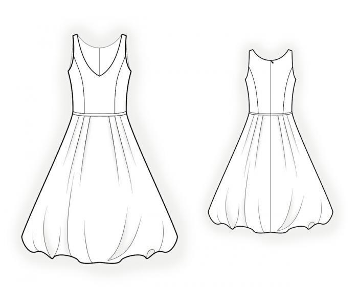 картинки красивые платья карандашом поэтапно бухает