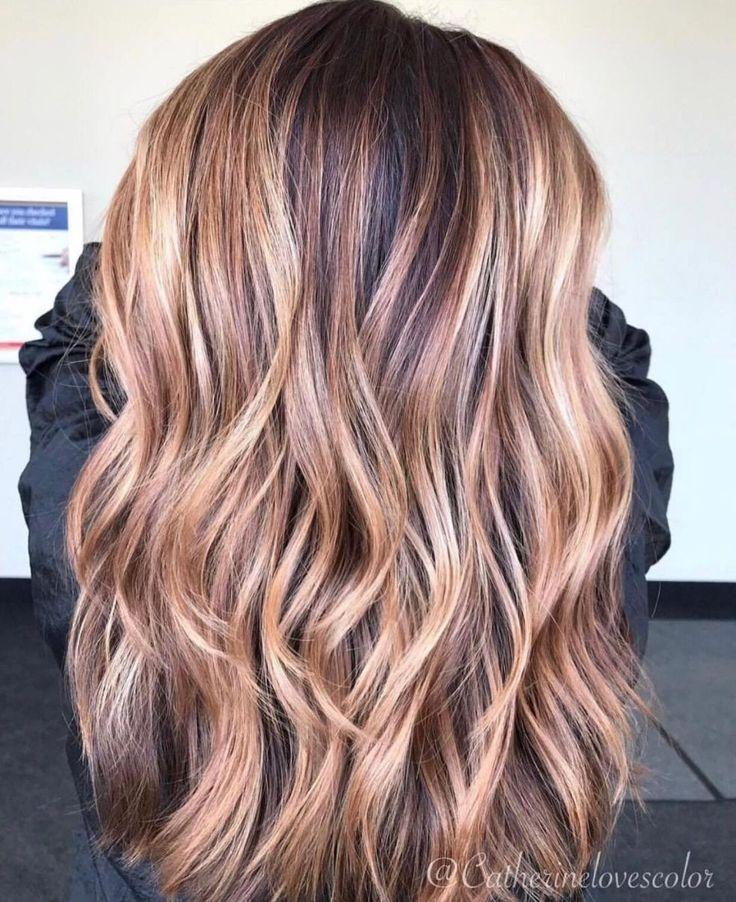 60 Looks mit karamellfarbenen Akzenten auf braunem und dunkelbraunem Haar – Health & Beauty
