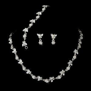 Dainty Butterfly Jewelry Set