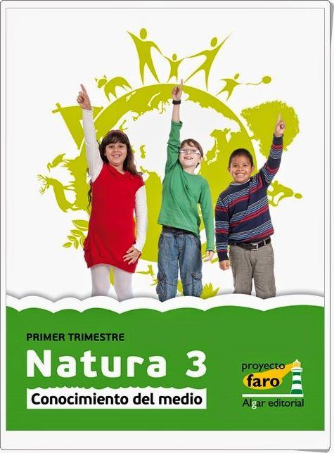 Natura 3. Actividades digitales de Conocimiento del Medio de 3º de Primaria. Ediciones Bromera.