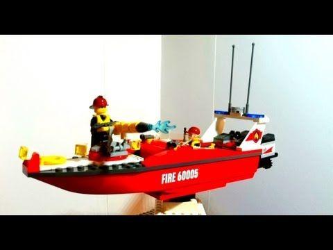 Video Lego Feuerwehrboot Teil 2
